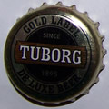 Tuborg Gold label